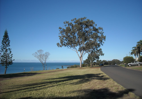 Hervey Bay esplanade